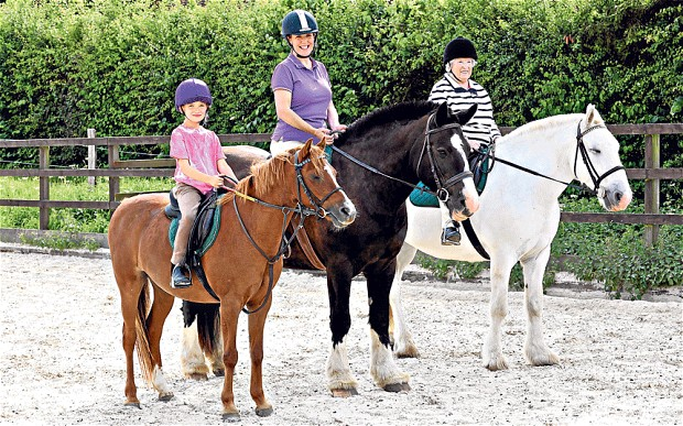 horse riding-